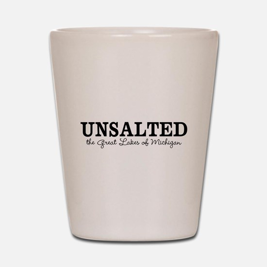 Michigan UNSALTED Shot Glass