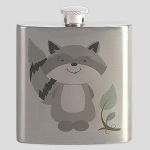 Raccoon Flask