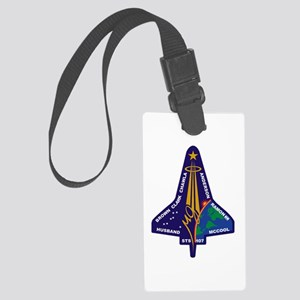 STS 107 Large Luggage Tag