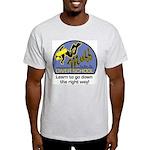 Muff Diver School Ash Grey T-Shirt