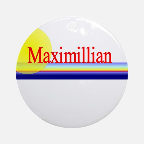 Maximillian Ornament (Round)