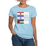 Peace Women's Pink T-Shirt