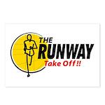 The Runway Postcards (Package of 8)