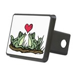 2 Frogs Rectangular Hitch Cover