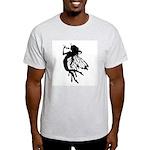 Rose Fairy Ash Grey T-Shirt