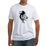 Rose Fairy Fitted T-Shirt