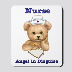 Nurse - Angel in Disguise Mousepad