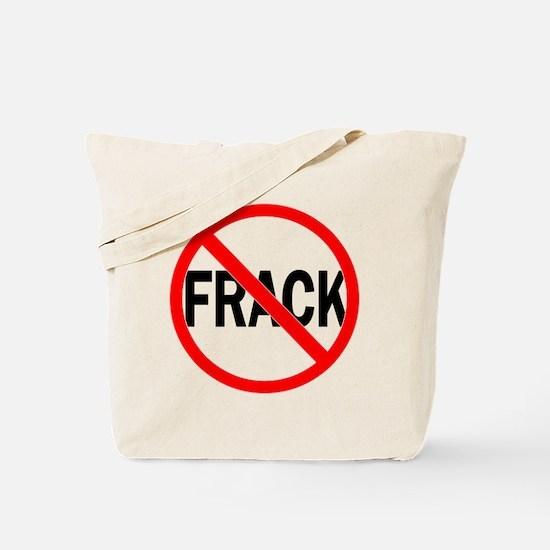 No Fracking Tote Bag