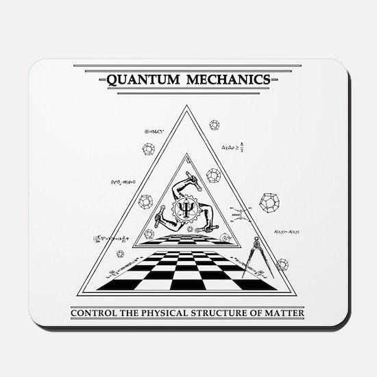 Quantum Mechanics - Surreal Mousepad