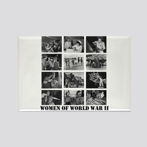 Women of WWII Rectangle Magnet