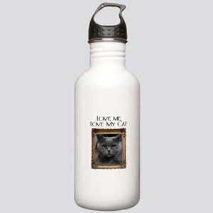 Love Me Love My Cat Stainless Water Bottle 1.0L