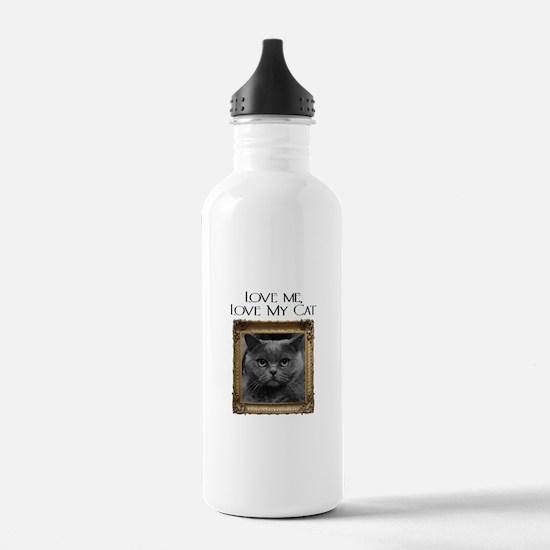 Love Me Love My Cat Water Bottle