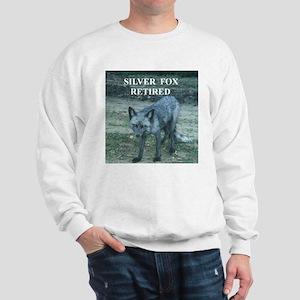 Silver Fox Retired Sweatshirt