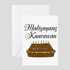 happy birthday tagalog greeting card