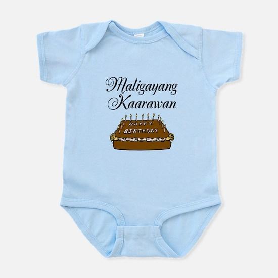 Happy Birthday (Tagalog) Infant Bodysuit