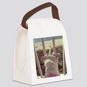 Anticipation Canvas Lunch Bag
