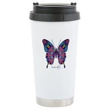 BFF Butterfly Stainless Steel Travel Mug