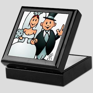 Wonderful wedding Keepsake Box