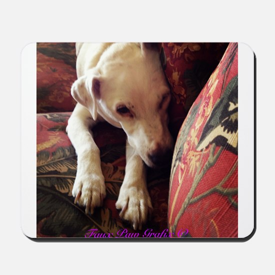 Jack Russell Resting Mousepad