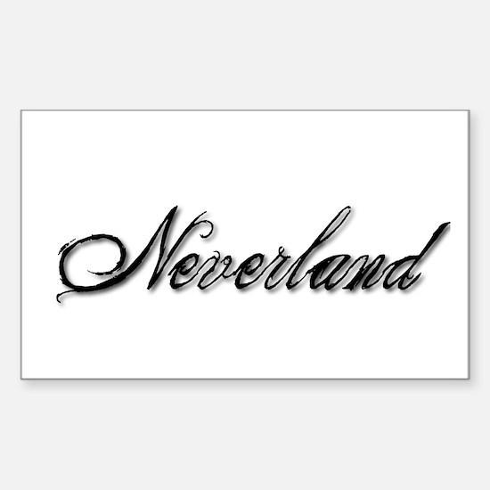 Ndyia Neverland Sticker (Rectangle)