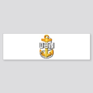 Navy - CPO - CPO Pin Sticker (Bumper)