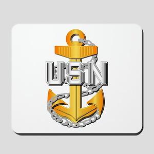 Navy - CPO - CPO Pin Mousepad