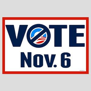 VOTE Nov. 6 Large Poster