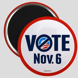 """VOTE Nov. 6 2.25"""" Magnet (10 pack)"""
