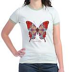 Attraction Butterfly Jr. Ringer T-Shirt
