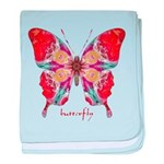 Attraction Butterfly baby blanket
