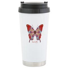 Attraction Butterfly Stainless Steel Travel Mug