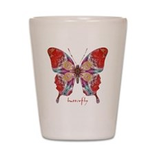 Attraction Butterfly Shot Glass