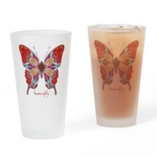 Attraction Butterfly Drinking Glass