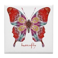 Attraction Butterfly Tile Coaster