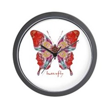 Attraction Butterfly Wall Clock