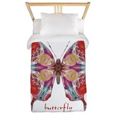 Attraction Butterfly Twin Duvet
