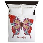 Attraction Butterfly Queen Duvet