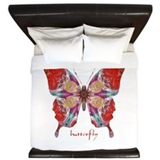 Attraction Butterfly King Duvet