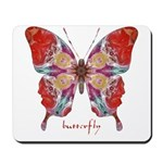 Attraction Butterfly Mousepad