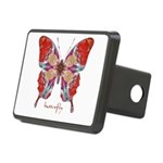 Attraction Butterfly Rectangular Hitch Cover