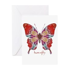 Attraction Butterfly Greeting Card