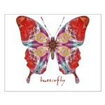 Attraction Butterfly Small Poster