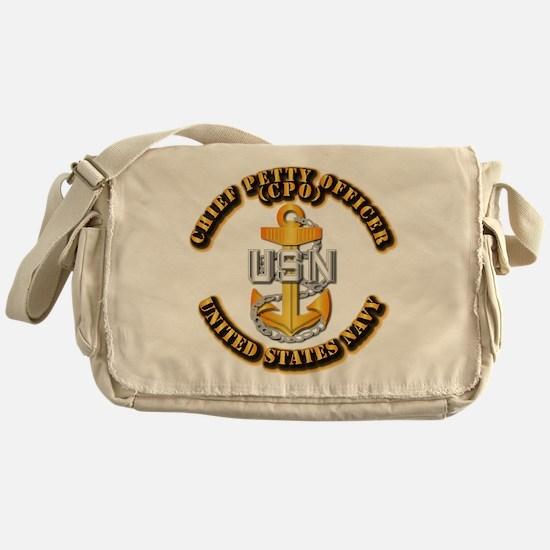 Navy - CPO - CPO Messenger Bag