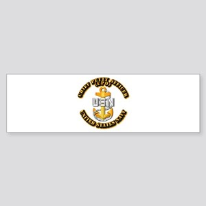 Navy - CPO - CPO Sticker (Bumper)