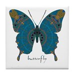 Birthing Butterfly Tile Coaster