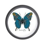Birthing Butterfly Wall Clock