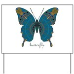 Birthing Butterfly Yard Sign