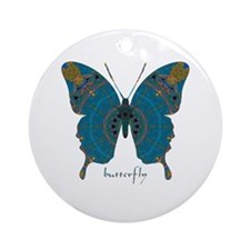 Birthing Butterfly Ornament (Round)