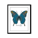 Birthing Butterfly Framed Panel Print