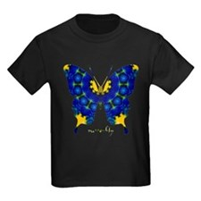 Charisma Butterfly Kids Dark T-Shirt